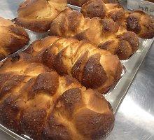 Saldus ir purus bulgariškas Velykų pyragas kozunakas