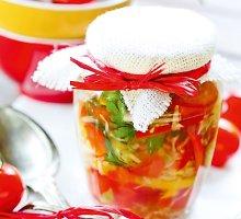 Daržovių sriuba su paprikomis