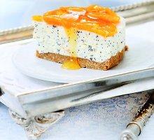 Jogurto tortas su mandarinais