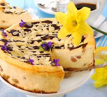 Keptas sūrio pyragas
