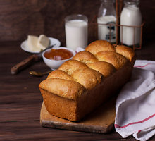 Puri speltų miltų duona