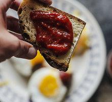 Pomidorų džemas su rūkyta paprika ir kuminu