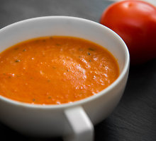 Šalta pomidorų sriuba su kefyru
