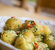 Bulvės pagal indišką receptą