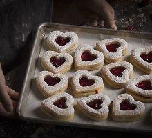 """Sausainiai """"Linco širdelės"""""""