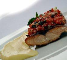 Kuprės filė kepsnys su bulvių kremu