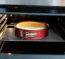 Varškės pyragas su razinomis