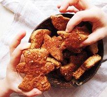 """Veganiški """"sviestiniai"""" sausainiai su cinamonu"""