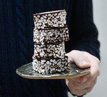 Šokoladiniai pūstų ryžių kąsneliai
