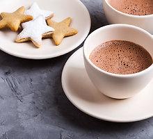 Imbierinis karštas šokoladas