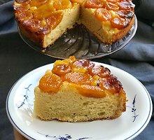 Apverstas džiovintų abrikosų pyragas
