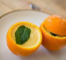 Indiškas apelsinų šerbetas