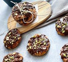 Varškės sausainiai be pridėtinio cukraus