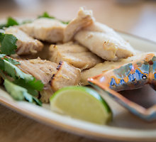 Marinuota tailandietiška žuvis