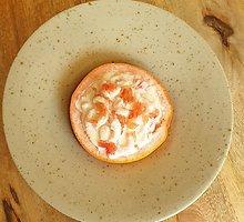 Užkandis iš Karibų: krevetėmis įdaryti greipfrutai