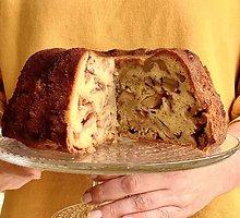 Žydiškas obuolių pyragas