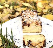 Iš Prancūzijos kilęs nematomas obuolių pyragas