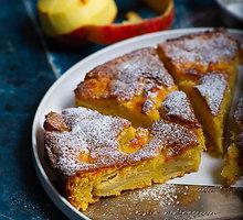 Prancūziškas obuolių pyragas neturintiems laiko