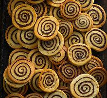 Cinamoniniai sviestiniai sausainiai