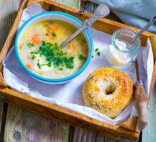Nostalgiškoji agurkinė sriuba