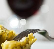 Brokolių-česnakų padažas makaronams