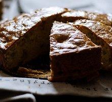 Minkštas rabarbarų pyragas