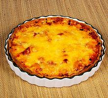 Pomidorų pyragas su mocarela