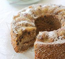 Purus obuolių pyragas su migdolais ir cinamonu