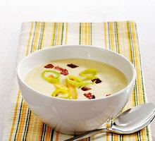 Kreminė morkų ir žiedinių kopūstų sriuba