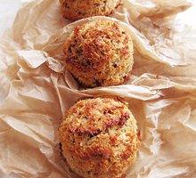 Veganiški kokoso drožlių sausainiai