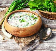 Šalta pasukų sriuba