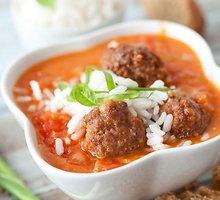 Pomidorų sriuba su kukulaičiais