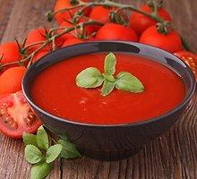 Ispaniška pomidorų sriuba (gaspačas)