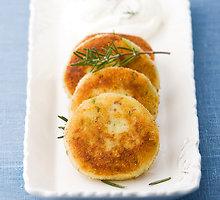 Bulvių ir grybų kotletai