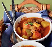 Mėsiška sriuba-guliašas
