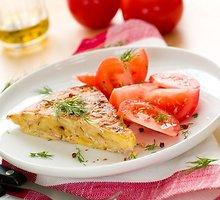 Bulvių ir lašišos apkepas