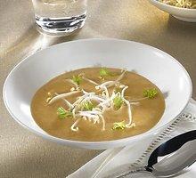 Salierų sriuba su sojomis