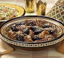 Marokietiška jautiena su slyvomis