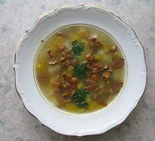 Kaimiška grybų sriuba su moliūgais