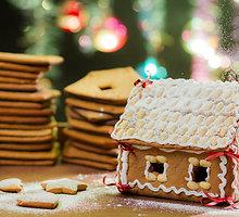 Kalėdinis imbierinis namelis