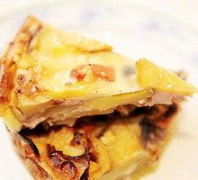 Bulvių ir svogūnų pyragas
