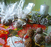 Riešutų ir razinų saldainiai