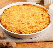 Daržovių ir sūrio apkepas