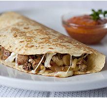 "Meksikietiškas užkandis ""quesadillas"""