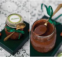 Šokoladinis lazdynų riešutų kremas