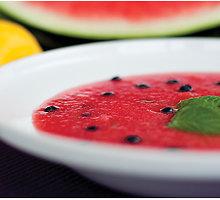 Šalta arbūzų sriuba