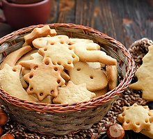 Sviestiniai citrininiai sausainiai