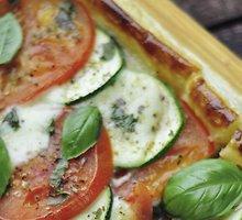 Pomidorų ir cukinijų kepinukai