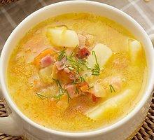 Džiovintų žirnių sriuba