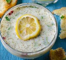 Naminės giros ir daržovių sriuba